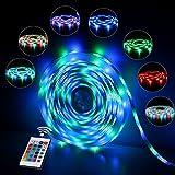 InnooLight 5m 300 LEDs RGB IP65 Wasserfest Bunt Selbstklebend SMD 2835 LED Lichterkette Inkl....
