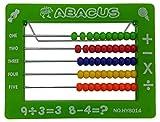 T656X Rechenschieber Zählrahmen Abakus Hilfe zum Rechnen Vorschulkind V2 (Grün)