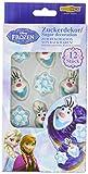 Dekoback Zuckerdekor Disney Frozen, 12 Stück, 1er Pack (1 x 100 g)