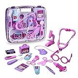 Arztkoffer für Kinder Cherbell Doktorkoffer mit Arzt Zubehör Rollenspiele Spielzeug für Kinder...