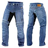 Trilobite Forcefield PARADO Herren Motorrad Hose lang Jeans Schutz verstärkt, 3066114, Größe...
