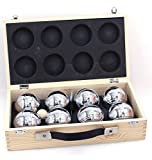 Weiblespiele 010206 - Boules-Set in Holzkiste, 8-teilig