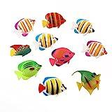 UEETEK 10 PC künstliche Aquarium-Fisch-Verzierung für Aquarium-Fisch-Behälter-Dekoration