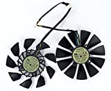 2 Pcs/lot T129215SU 12V 0.5A 5Pin Grafikkartenlüfter For GTX780 GTX780TI R9 280/280X 290/290x...