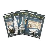 Fascinations Metal Earth MMS063 - 502504, Graf Zeppelin, Konstruktionsspielzeug, 2 Metallplatinen,...