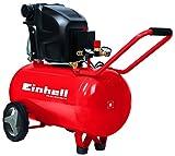 Einhell Kompressor TE-AC 270/50/10 (1,8 kW, 50 L, Ansaugleistung 270 l / min, 10 bar, ölgeschmiert,...