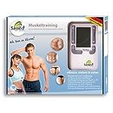SaneoSPORT Muskeltraining * EMS Gerät * Muskelstimulator * deutsche Markenqualität *...