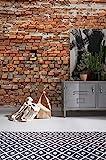 Komar Vlies Fototapete'Bricklane', 368 x 248 cm, 4 Teile