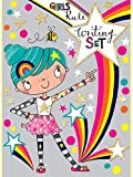 Kinder Schreibset - 30 Blatt liniertes Papier, 20 passende Umschläge und Aufkleber