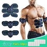 Elektrostimulation, SLB EMS Training Gerät Elektrischer Bauch Muskelstimulation Muskelaufbau und...