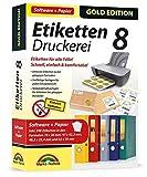Etiketten Druckerei 8 mit Papier