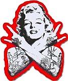 Punk Marilyn Monroe Aufkleber für Skateboards, Snowboards, Scooter, BMX, Mountain Bikes, Laptops,...