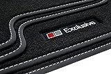 Tuning-Art A31-FBA Auto Fußmatten Exclusive-Line mit Bandeinfassung und Ziernähten