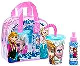 Air Val Disney Frozen Die Eiskönigin Geschenk-Set, 1er Pack (Eau de Toilette 100 ml, Trinkbecher...