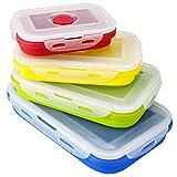 Faltbare Frischhaltedosen, Kann Zusammengefaltet Werden Silikon Brotbox, Von SveBake