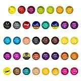 Nescafé Dolce Gusto Probierset - 39 verschiedene Kapseln, Kaffee, Kakao, Tee, Kaffeekapsel, 28...