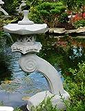 Mui Garten Dekor Rankei S japanische Steinlaterne Garten Teich Laterne Garden Decor