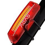LED Fahrrad Rücklicht, GVDV Super Hell Fahrradbeleuchtung USB Wiederaufladbare Sport Wasserdicht...