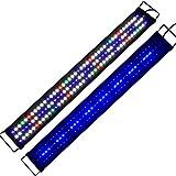 Aquarien Eco Tageslichtsimulation Aquarium LED Beleuchtung Lampe für Süßwasser Meerwasser voll...