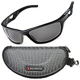 ZILLERATE Polarisierte Sonnenbrille für Herren und Damen, UV Schutz, Leichter Unzerbrechlicher...