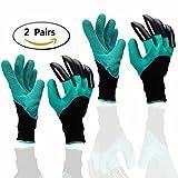 Garten Handschuhe (2 Paar), Eiito pflanz-und arbeitshandschuhe garten gartenarbeit handschuhe mit...
