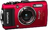 Olympus TG-4 Digitalkamera (16 Megapixel, 4-fach opt. Zoom, CMOS-Sensor, GPS, wasserdicht bis 15 m,...