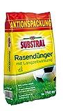 Substral Rasen-Dünger mit Langzeitwirkung - Qualitätsrasendünger mit bis zu 3 Monaten...