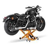 ConStands XL Montageständer Motorrad Hebebühne Scherenheber Hydraulik-Lift (orange)
