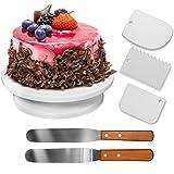 HBlife Tortenplatte drehbar Tortenständer Kuchen Drehteller Cake Decorating Turntable mit...