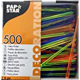 500 Deko-Picker 8 cm farbig sortiert 'Drop'