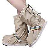 Eagsouni® Regenüberschuhe Wasserdicht Schuhe Abdeckung Stiefel Flache Regen Überschuhe Regenkombi...