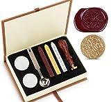 Wax Wachs Siegel Stempel Kit Absofine Vintage Adhesive Waxing Satz mit Stick Löffel Kerzen Geschenk...