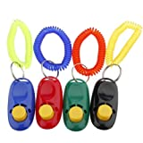 Klicker Clicker Clickertraining für Hunde Katzen Haustier Hunde- und Katzentraining incl. Armband