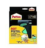 Pattex Hot Pistol Heißklebepistole / Klebepistole mit mechanischem Vorschub und hitzeisolierter...