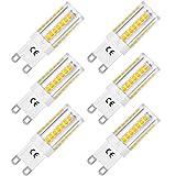 LOHAS G9 LED Lampe, 5W Ersatz für 40W Halogen Lampen, Warmweiß 3000K, 400lm, 360° Abstrahlwinkel,...
