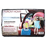 Purovi® Kofferraummatte Antirutschmatte | 140 x 100cm Rutschschutz für PKW, Wohnwagen, Boot und...