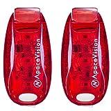 EverLightFX LED Sicherheitslicht von Apace – 2 ultrahelle, per USB aufladbare, ansteckbare...
