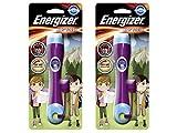 Elfenstall 2 Stück Energizer Kinderlampe LED für Kinder inkl. 2 x AAA Batterien in der Farbe blau