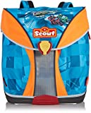 Scout Unisex - Kinder Schulranzen Nano Helikopter, blau, 49100253400