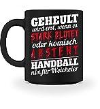 Hochwertige Tasse - Handball – Nix für Weicheier