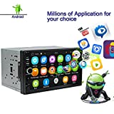 Ezonetronics Android Autoradio Stereo 7 Zoll Kapazitiver Touchscreen High Definition 1024x600 GPS...