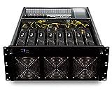 bold. Mining Rig Computer • 8x GTX 1060 • optimierter GPU-Miner für Crypto-Währungen •...