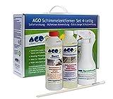 AGO Schimmelentferner Set 4tlg. Premium Konzentrat zum Schimmel entfernen in Haus und Wohnung
