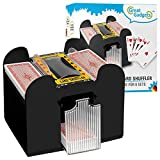 GreatGadgets 2128 Kartenmischmaschine für 6 Decks