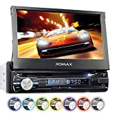 XOMAX XM-VRSUN741BT Autoradio / Moniceiver / Naviceiver mit GPS Navigation + Navi Software inkl....
