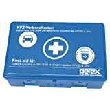 PETEX 43920005 Verbandkasten Inhalt nach DIN 13164, Blau