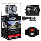AKASO Action Cam Sport Action Camera 4K 170° Ultra Weitwinkel Full HD Kamera mit 12MP WIFI Funktion...