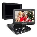 10,1' HD Tragbarer DVD Player 5 Stunden Akku NAVISKAUTO Auto Ferseher Kopfstütze Monitor Media...
