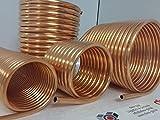 Spirale aus Kupferrohr 18x1mm weich aus 10m mit Ø ca. 31cm (Kupferrohrspirale)