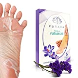 [2 Paar] Fußmaske zur Hornhaut Entfernung - Anti Hornhaut Socken als Fuß Peeling Maske - Fussmaske...